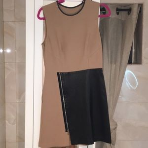 Dresses & Skirts - French style dress real leather